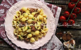 Рецепт тушенки с макаронами