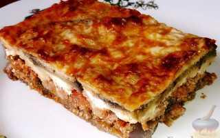 Запеканка мясная сытная рецепт с фото пошагово