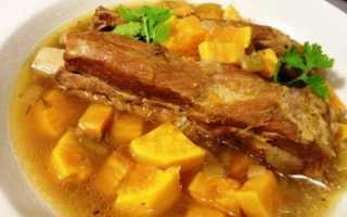 Соус из свинины с картошкой рецепт