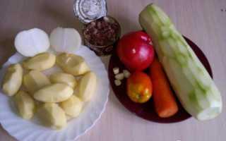 Рагу из тушенки с картофелем