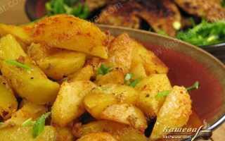 Картошка по мексикански в духовке