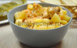 Как готовить курицу с картошкой
