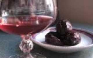 Вино и наливка из слив