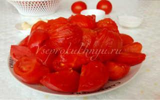 Хренодер на зиму из помидор и хрена