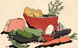 Правильный салат оливье