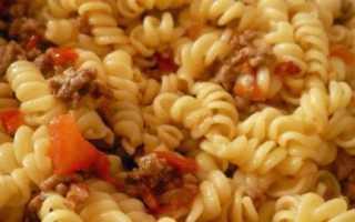 Как готовить макароны с тушенкой