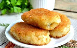Котлеты по белорусски с картошкой