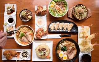 Вкусные японские блюда