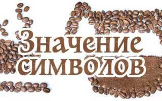 Как расшифровать символы при гадании на кофейной гуще