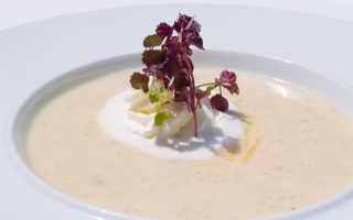 Суп со сметаной
