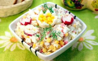 Крабовое мясо рецепты салатов