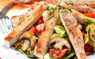 Салат из мяса индейки рецепт