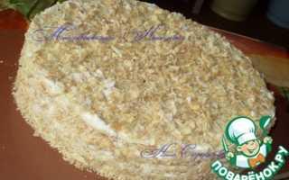 Вкусный домашний торт готов